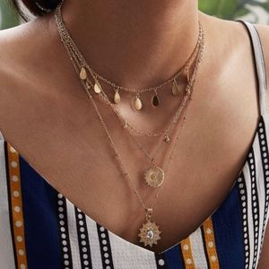 Jewelry - JILLY Delicate Multilayer Necklace
